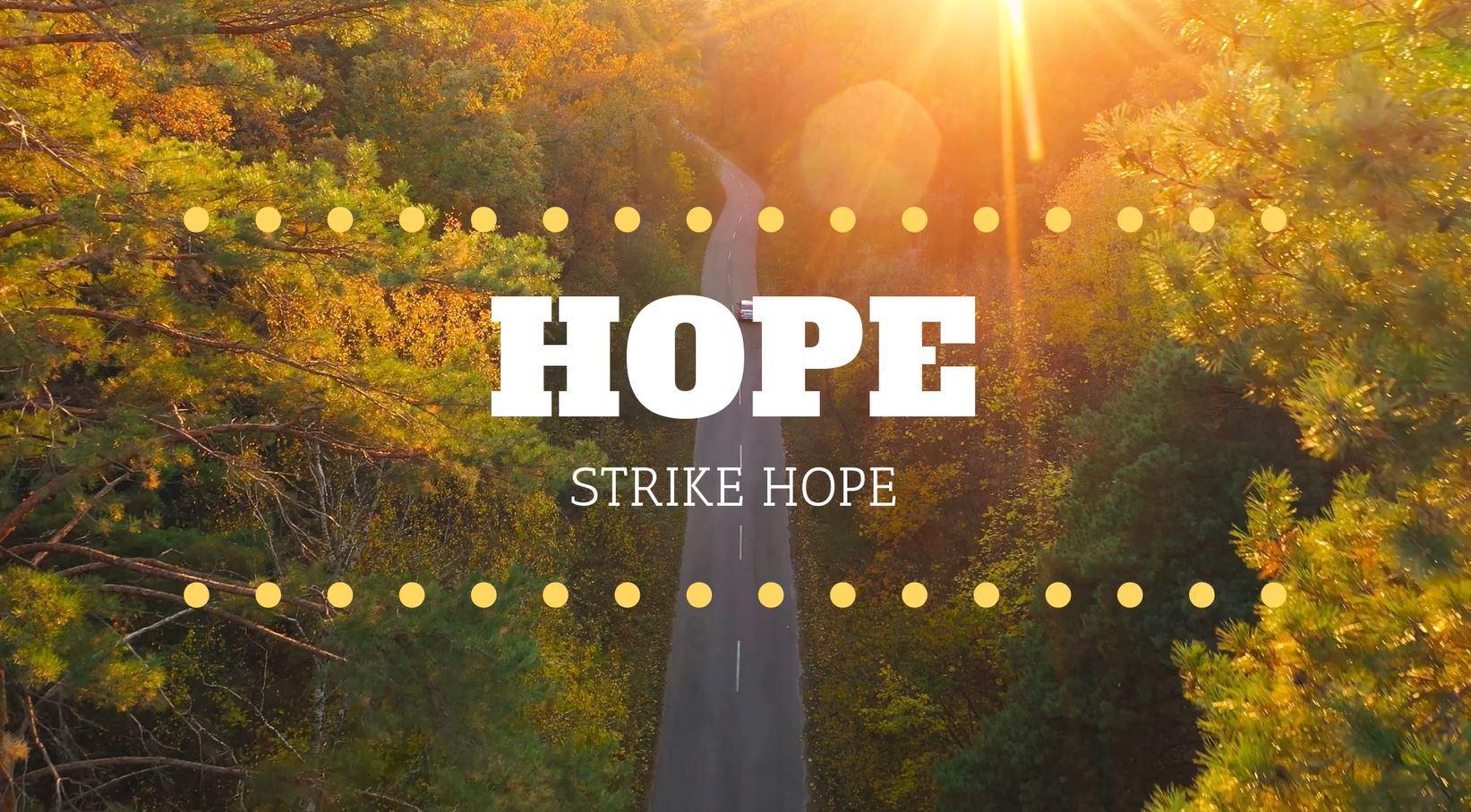 strike hope